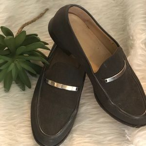 Gucci Canvas loafers authentic